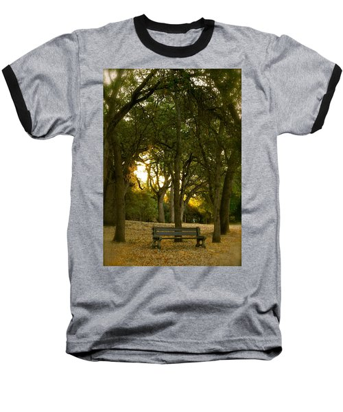 Come Sit Awhile Baseball T-Shirt
