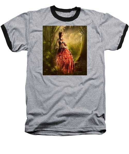 Come To Me In The Moonlight Baseball T-Shirt