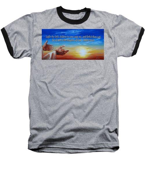 Come Unto Me Baseball T-Shirt