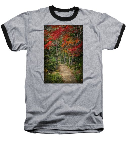 Baseball T-Shirt featuring the photograph Come Walk With Me by Priscilla Burgers