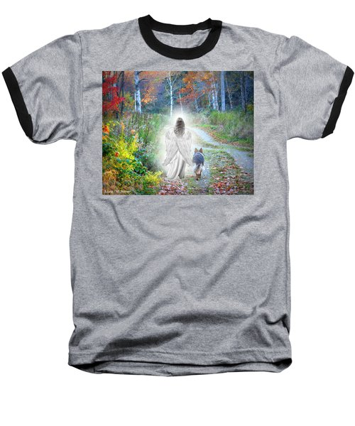 Come Walk With Me Baseball T-Shirt