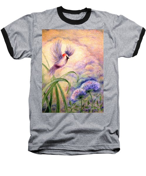 Coming To Rest Baseball T-Shirt by Hazel Holland