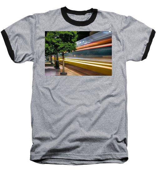 Dallas Commuter Train 052214 Baseball T-Shirt