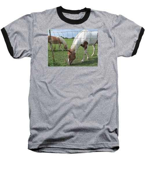 Baseball T-Shirt featuring the photograph Company Of Two by Tina M Wenger