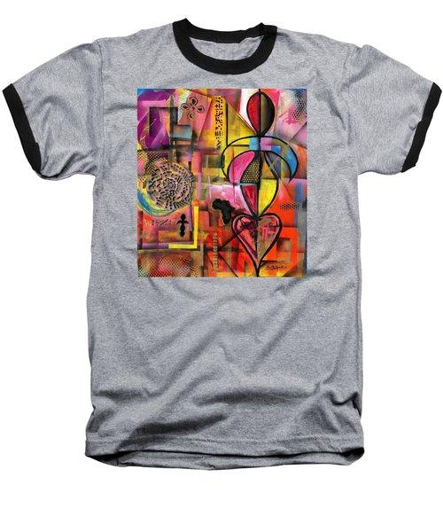 Compassionate Woman X2 Baseball T-Shirt