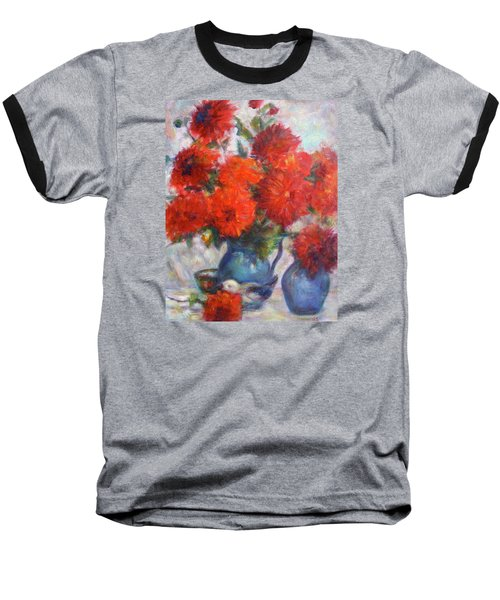 Complementary - Original Impressionist Painting - Still-life - Vibrant - Contemporary Baseball T-Shirt