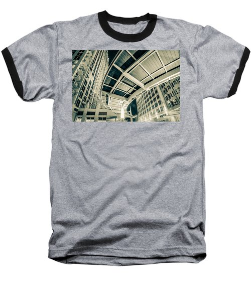 Baseball T-Shirt featuring the photograph Complex Architecture by Alex Grichenko
