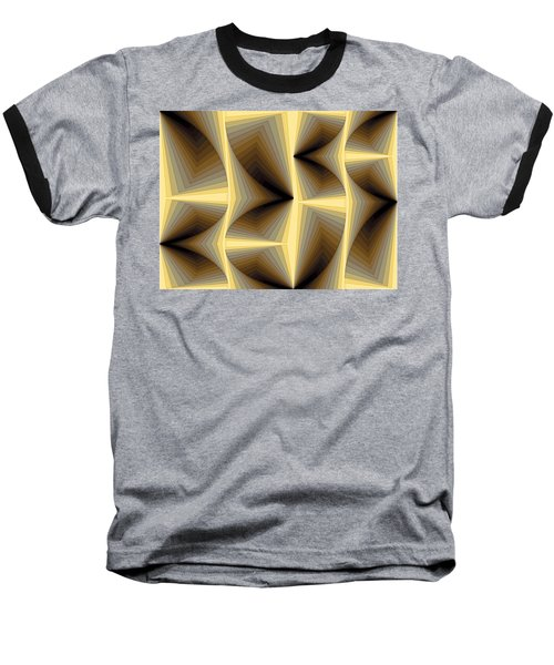 Composition 252 Baseball T-Shirt by Terry Reynoldson