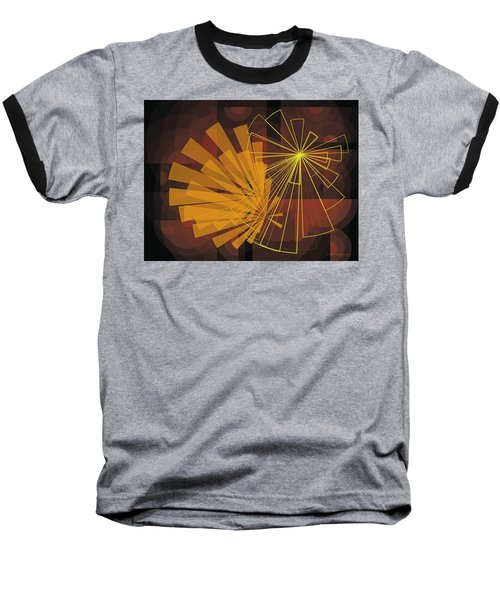 Composition16 Baseball T-Shirt by Terry Reynoldson
