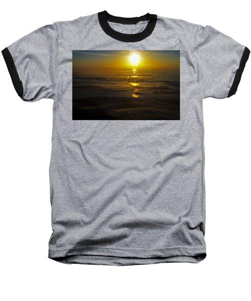 Conanicut Island And Narragansett Bay Sunrise II Baseball T-Shirt