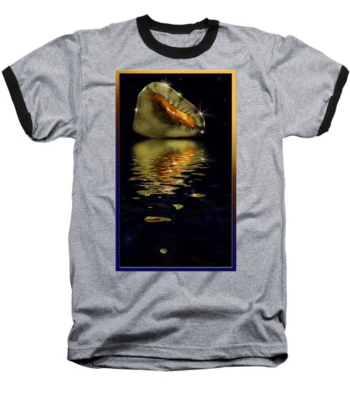 Conch Sparkling With Reflection Baseball T-Shirt
