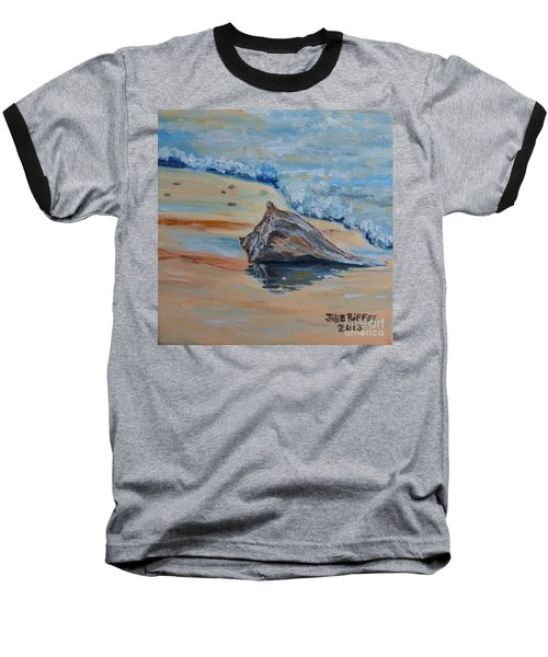 Conched Out Baseball T-Shirt by Julie Brugh Riffey