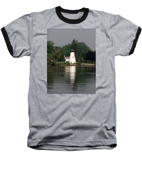 Concord Point Lighthouse Baseball T-Shirt