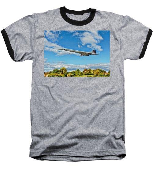 Concorde On Finals Baseball T-Shirt