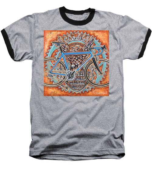 Baseball T-Shirt featuring the painting Condor Baracchi by Mark Howard Jones