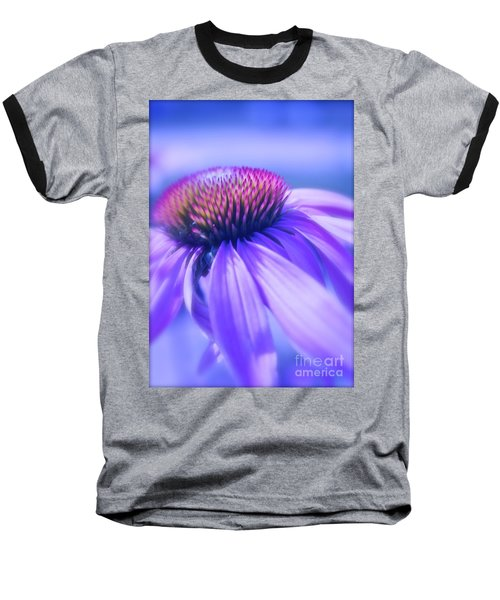 Cone Flower In Pastels  Baseball T-Shirt