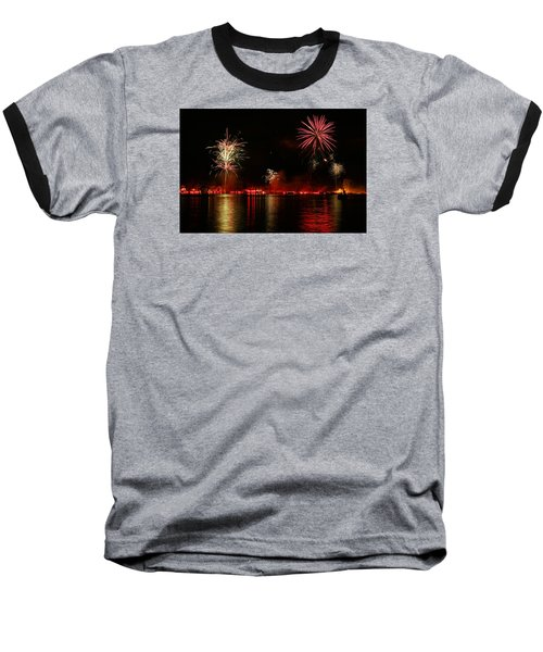 Conesus Ring Of Fire Baseball T-Shirt