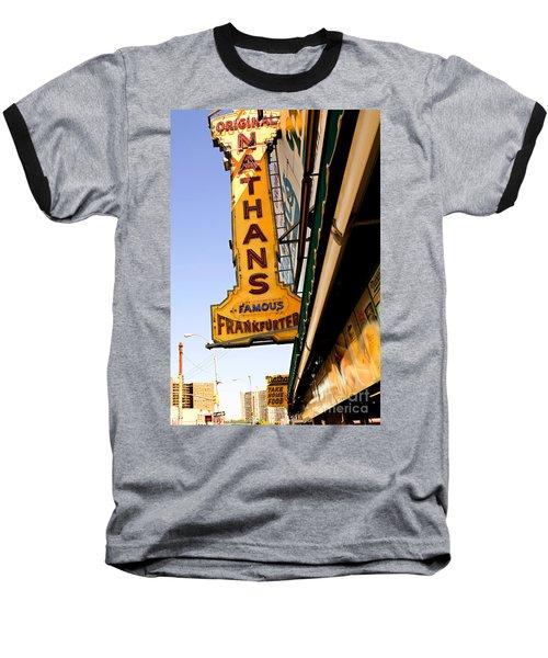 Coney Island Memories 1 Baseball T-Shirt