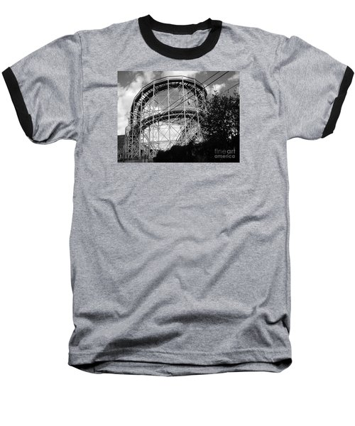 Coney Island Roller Coaster Baseball T-Shirt