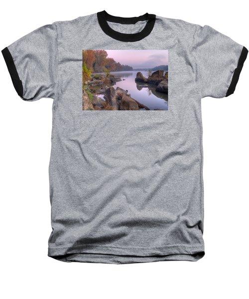 Congaree River At Dawn-1 Baseball T-Shirt