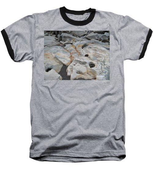 Connecticut River Bed Baseball T-Shirt