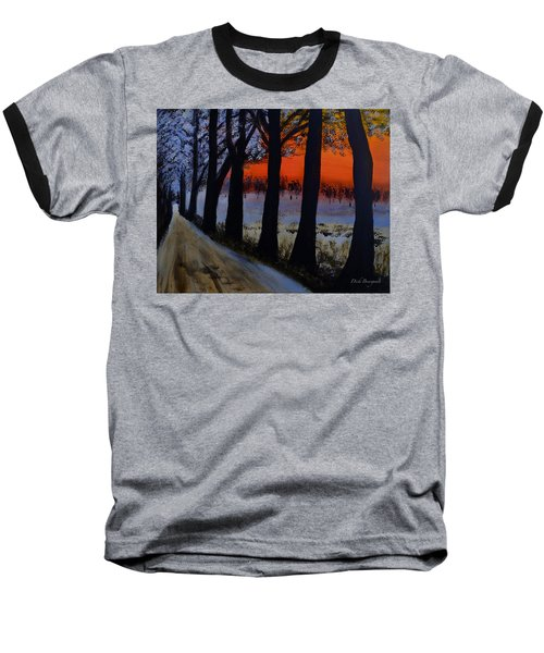 Conrad Road Sunrise Baseball T-Shirt