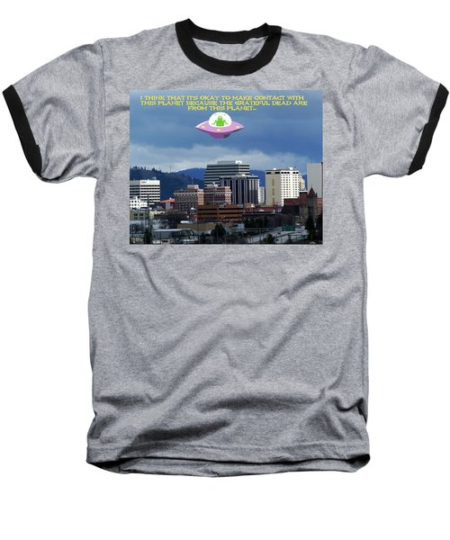 Contact With A Dead Planet 2 Baseball T-Shirt