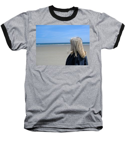 Contemplating The Stillness Baseball T-Shirt