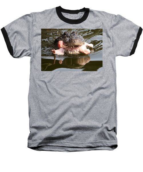 Baseball T-Shirt featuring the photograph Contented by David Nicholls