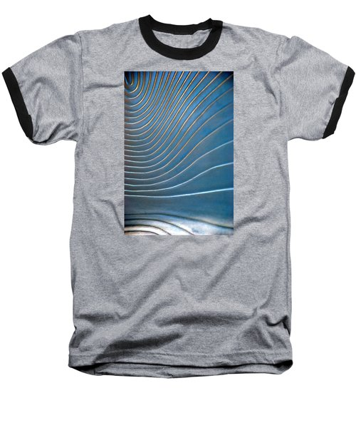 Contours 1 Baseball T-Shirt by Wendy Wilton