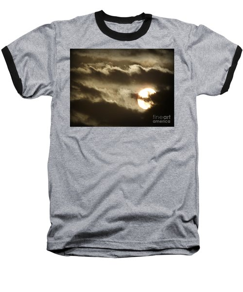 Baseball T-Shirt featuring the photograph Contrast by Clare Bevan