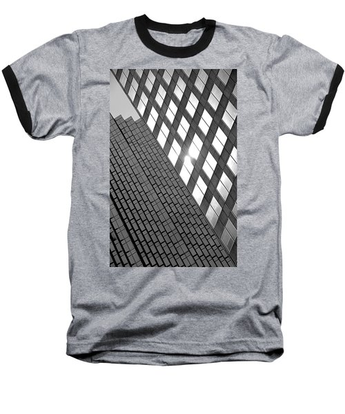 Contrasting Architecture Baseball T-Shirt by Valentino Visentini
