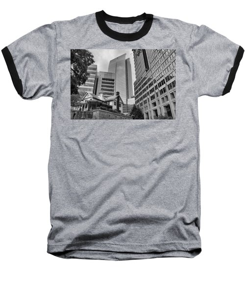 Contrasting Southern Architecture Baseball T-Shirt