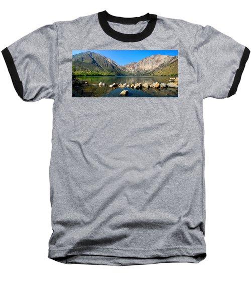 Convict Lake Panorama Baseball T-Shirt