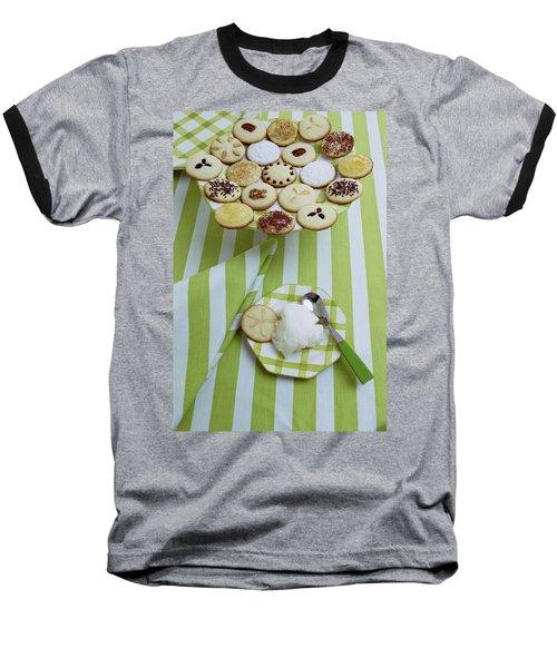 Cookies And Icing Baseball T-Shirt