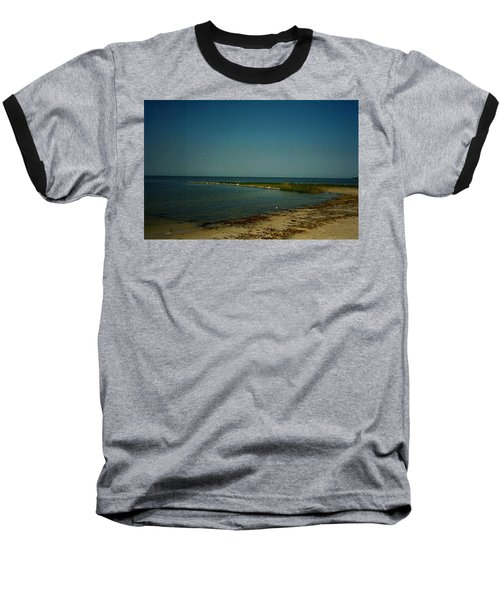 Cool Day For A Swim Baseball T-Shirt by Amazing Photographs AKA Christian Wilson