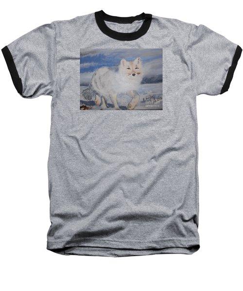 Cool Fox Baseball T-Shirt by Francine Heykoop