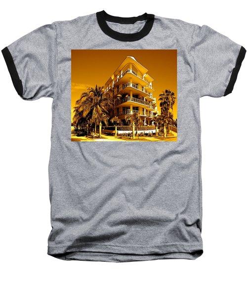 Cool Iron Building In Miami Baseball T-Shirt