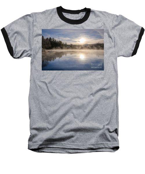 Cool November Morning Baseball T-Shirt by Jola Martysz
