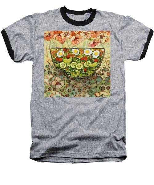 Cool Summer Salad Baseball T-Shirt