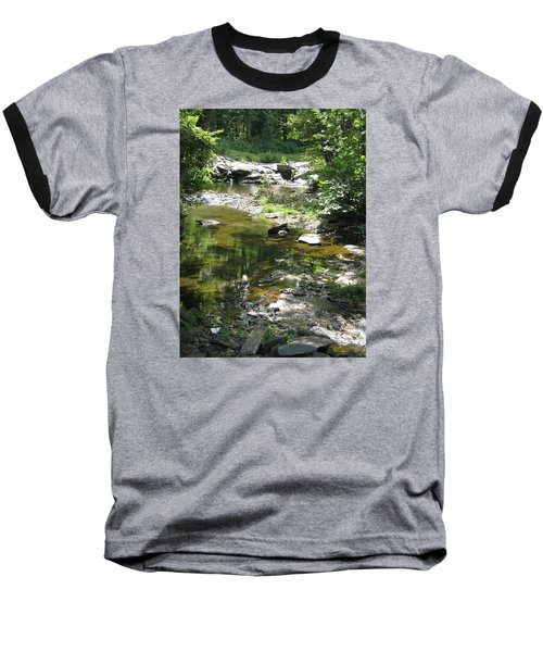 Baseball T-Shirt featuring the photograph Cool Waters by Ellen Levinson