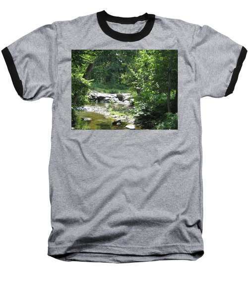 Baseball T-Shirt featuring the photograph Cool Waters II by Ellen Levinson