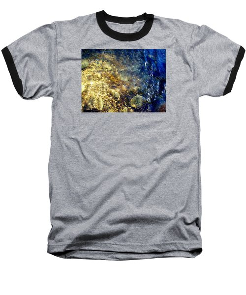 Baseball T-Shirt featuring the photograph Cool Waters...of The Rifle River by Daniel Thompson