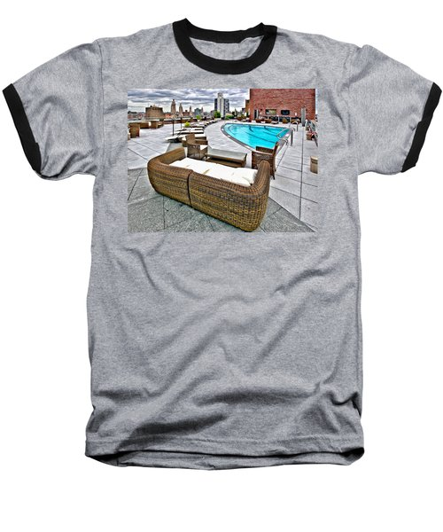 Cooper Roof Baseball T-Shirt