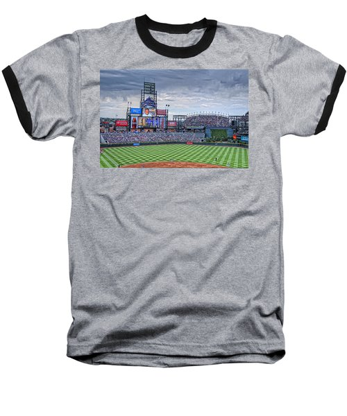Coors Field Baseball T-Shirt by Ron White