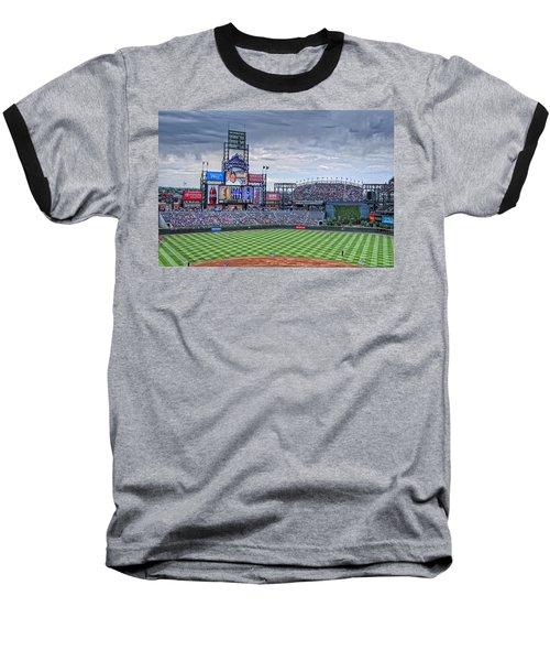 Coors Field Baseball T-Shirt