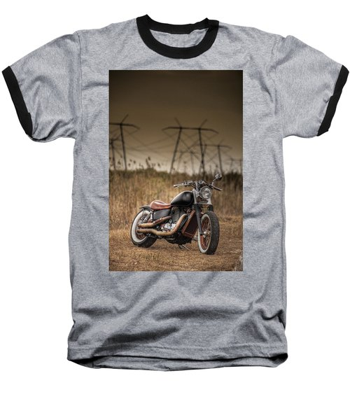 Copper Chopper Baseball T-Shirt