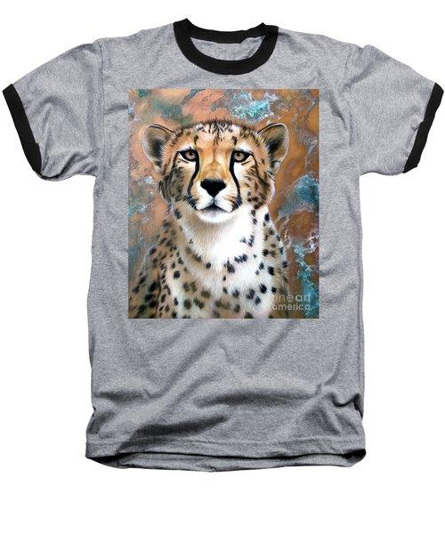 Copper Flash - Cheetah Baseball T-Shirt