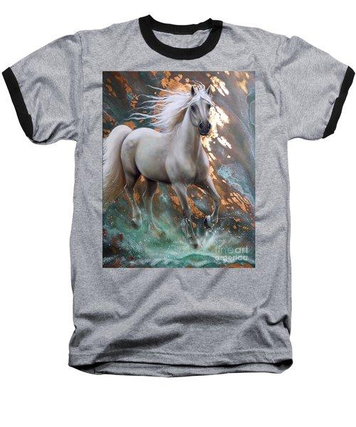 Copper Sundancer - Horse Baseball T-Shirt