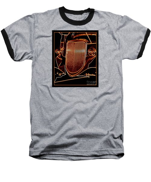 Baseball T-Shirt featuring the photograph Copper Works by Bobbee Rickard